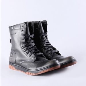 Diesel basket butch men's lace up boots